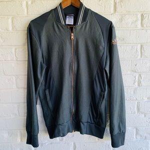 Adidas Climalite Gray & Rose Gold Zip Up Jacket